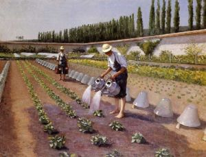 "Gustave Caillebotte's ""The Gardeners"""