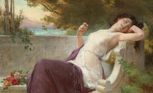 An Afternoon Rest by Guillaume Seignac